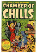 Golden Age (1938-1955):Horror, Chamber of Chills #21 (#1) File Copy (Harvey, 1951) Condition:VG/FN....