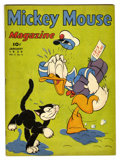 Golden Age (1938-1955):Cartoon Character, Mickey Mouse Magazine V4#4 (K. K. Publications, Inc., 1939)Condition: FN....