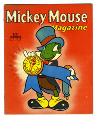 Mickey Mouse Magazine V5#5 (K. K. Publications, Inc., 1940) Condition: FN+