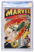 Golden Age (1938-1955):Superhero, Marvel Mystery Comics #80 (Timely, 1947) CGC FN+ 6.5 Light tan to off-white pages....