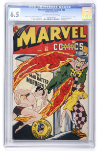 Marvel Mystery Comics #80 (Timely, 1947) CGC FN+ 6.5 Light tan to off-white pages