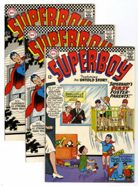 Superboy Group (DC, 1966-68) Condition: Average VF/NM.... (Total: 6 Comic Books)