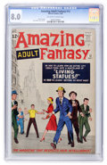 Silver Age (1956-1969):Science Fiction, Amazing Adult Fantasy #12 (Marvel, 1962) CGC VF 8.0 Off-white towhite pages....