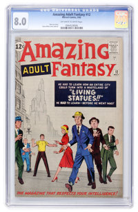 Amazing Adult Fantasy #12 (Marvel, 1962) CGC VF 8.0 Off-white to white pages