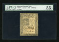 Colonial Notes:Delaware, Delaware January 1, 1776 4s PMG About Uncirculated 53 EPQ....