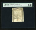 Colonial Notes:Connecticut, Connecticut June 19, 1776 40s Slash Cancel PMG Choice Uncirculated64 EPQ....