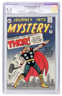 Journey Into Mystery #89 (Marvel, 1963) CGC Apparent VF+ 8.5 Slight (P) Off-white pages