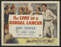 "Movie Posters:Adventure, The Lives of a Bengal Lancer (Paramount, R-1950). Lobby Card Set of8 (11"" X 14""). Adventure.. ... (Total: 8 Items)"
