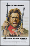"""Movie Posters:Western, The Outlaw Josey Wales (Warner Brothers, 1976). Autographed One Sheet (27"""" X 41""""). Western.. ..."""