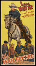 "Movie Posters:Western, The Trail Beyond (Monogram, 1934). Three Sheet (41"" X 81""). Western.. ..."