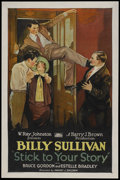 "Movie Posters:Action, Stick to Your Story (Rayart Pictures, 1926). One Sheet (27"" X 41"").Action.. ..."