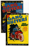 Golden Age (1938-1955):Crime, Gang Busters #4 and 8 Group (DC, 1948-49)....