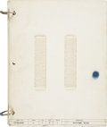 Explorers:Space Exploration, Gemini 7 Flown Systems Checklist Book Directly from the PersonalCollection of Mission Pilot James Lovell, Certified and Signe...