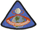Explorers:Space Exploration, Apollo 8 Flown Embroidered Mission Patch Directly from the PersonalCollection of Mission Command Module Plot James Lovell, Ce...