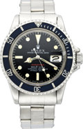 Timepieces:Wristwatch, Rolex Red Submariner Ref. 1680, circa 1968. ...