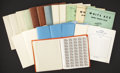 Stamps, U.S. 1c - 37c Sheets Accumulation / Collection.... (Total: 1 Small Box)