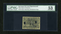 Fractional Currency:Second Issue, Fr. 1283SP 25c Second Issue PMG About Uncirculated 53....