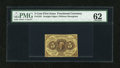 Fractional Currency:First Issue, Fr. 1231 5c First Issue PMG Uncirculated 62....