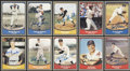 Autographs:Sports Cards, Baseball Legends Signed Cards Lot Of 134. ...