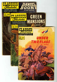 Classics Illustrated Group (Gilberton, 1950s-60s) Condition: Average GD.... (Total: 25 Comic Books)