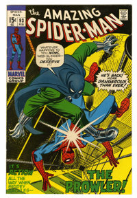 The Amazing Spider-Man #93 (Marvel, 1971) Condition: VF/NM