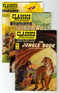 Classics Illustrated Group (Gilberton, 1950s-60s) Condition: Average FN.... (Total: 39 Comic Books)