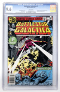 Bronze Age (1970-1979):Science Fiction, Battlestar Galactica #1 (Marvel, 1979) CGC NM+ 9.6 White pages....