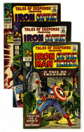 Silver Age (1956-1969):Superhero, Tales of Suspense Group (Marvel, 1965-68) Condition: Average VF+.... (Total: 9 Comic Books)