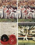 Autographs:Others, Baltimore Oriole Signed World Series Programs Lot Of 4....