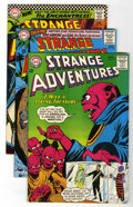 Silver Age (1956-1969):Science Fiction, Strange Adventures Group (DC, 1965-70) Condition: Average VF+.... (Total: 8 Comic Books)