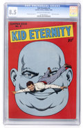 Golden Age (1938-1955):Superhero, Kid Eternity #2 (Quality, 1946) CGC VF+ 8.5 Off-white to white pages....