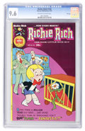 Bronze Age (1970-1979):Humor, Richie Rich #134 File Copy (Harvey, 1975) CGC NM+ 9.6 Off-white to white pages....