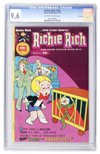 Richie Rich #134 File Copy (Harvey, 1975) CGC NM+ 9.6 Off-white to white pages