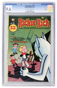Richie Rich #133 File Copy (Harvey, 1975) CGC NM+ 9.6 Off-white to white pages