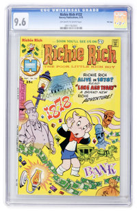 Richie Rich #132 File Copy (Harvey, 1975) CGC NM+ 9.6 Off-white to white pages