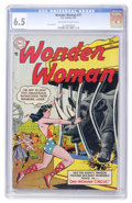 Golden Age (1938-1955):Superhero, Wonder Woman #71 (DC, 1955) CGC FN+ 6.5 Off-white to white pages....