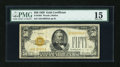 Small Size:Gold Certificates, Fr. 2404 $50 1928 Gold Certificate. PMG Choice Fine 15.. ...