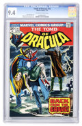 Bronze Age (1970-1979):Horror, Tomb of Dracula #16 (Marvel, 1974) CGC NM 9.4 Off-white to whitepages....