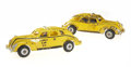 Antiques:Toys, Pair of Arcade Yellow Cab Taxis.... (Total: 2 Items)