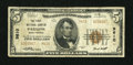 National Bank Notes:West Virginia, Parsons, WV - $5 1929 Ty. 2 The First NB Ch. # 9610. ...