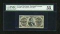 Fractional Currency:Third Issue, Fr. 1294 25c Third Issue PMG About Uncirculated 55....