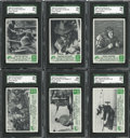 "Non-Sport Cards:General, 1966 Philadelphia ""Green Berets"" High Grade Complete Set (66) Plus Wrapper..."