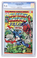 Bronze Age (1970-1979):Superhero, Captain America #185 (Marvel, 1975) CGC NM+ 9.6 Off-white to white pages....