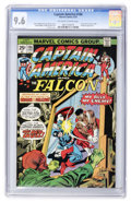 Bronze Age (1970-1979):Superhero, Captain America #186 (Marvel, 1975) CGC NM+ 9.6 Off-white to white pages....