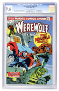Bronze Age (1970-1979):Horror, Werewolf by Night #15 (Marvel, 1974) CGC NM+ 9.6 Off-white to whitepages....