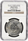 Explorers:Space Exploration, Skylab 1 (SL-2) NGC-Encapsulated MS64 Unflown Silver RobbinsMedallion Directly from the Personal Collection of Mission Pilot...