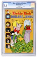 Bronze Age (1970-1979):Cartoon Character, Richie Rich Dollars and Cents #54 File Copy (Harvey, 1973) CGC NM+9.6 Off-white to white pages....