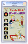 Bronze Age (1970-1979):Cartoon Character, Richie Rich Dollars and Cents #56 File Copy (Harvey, 1973) CGC NM+9.6 White pages....