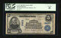 National Bank Notes:Maryland, Baltimore, MD - $5 1902 Plain Back Fr. 607 The National Marine BankCh. # 2453. ...