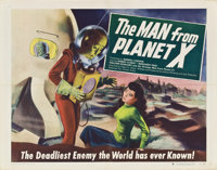"""The Man from Planet X (United Artists, 1951). Half Sheet (22"""" X 28"""") Style B"""
